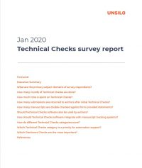 Technical Checks Survey